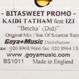 Kaidi Tatham feat. Izzi - Betcha' Did