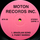 V.A. (Ed Motta, Ray Munnings) - Brazilian Song (MOTON 09)