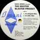 Nick Jones - The Master Blaster Project