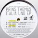 Prins Thomas - Balearic Gabba Soundsystem Italia Uno EP