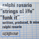 Ralphi Rosario - Strings of Life / Funk It