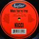 Nicci - When You're Free (Remixed Blaze)