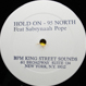 95 North feat. Sabrynaah Pope - Hold On (Remixed Jovonn)