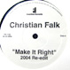 Christian Falk / True Solace - Make It Right / Thank You