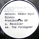 Djinxx - Prohibition EP (Revolver / The Foreigner)